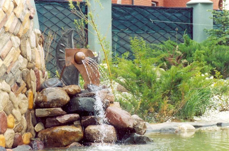 Сооружаем искусственный фонтан