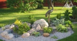 Как сделать красивый рокарий (подготовка почвы и выкладка камней)