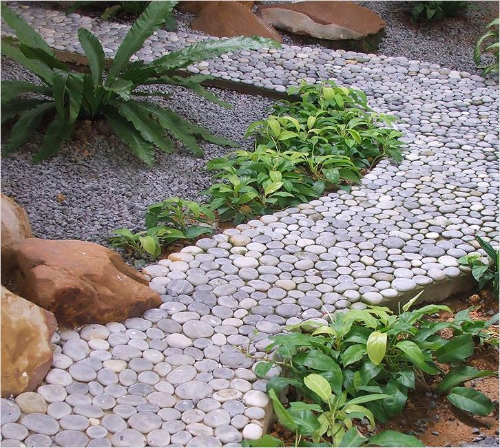 Дорожки в саду своими руками из подручного материала фото