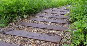 Садовая дорожка по правилам фэн-шуй