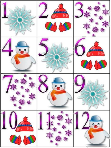Календарь зимних работ